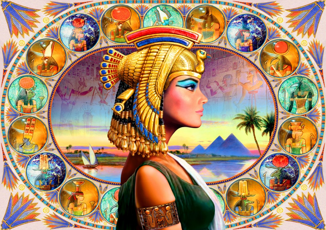 Nefertari 1000 piece jigsaw puzzle