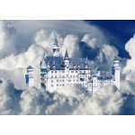 Puzzle   Neuschwanstein Castle in Clouds