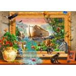 Puzzle   Noah's Ark Framed