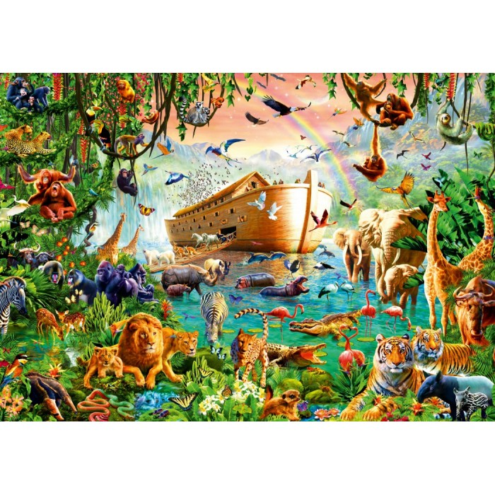 Noah's Ark Puzzle 1000 pieces