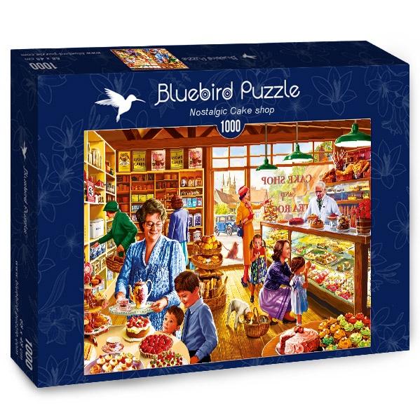 Nostalgic Cake shop 1000 piece jigsaw puzzle