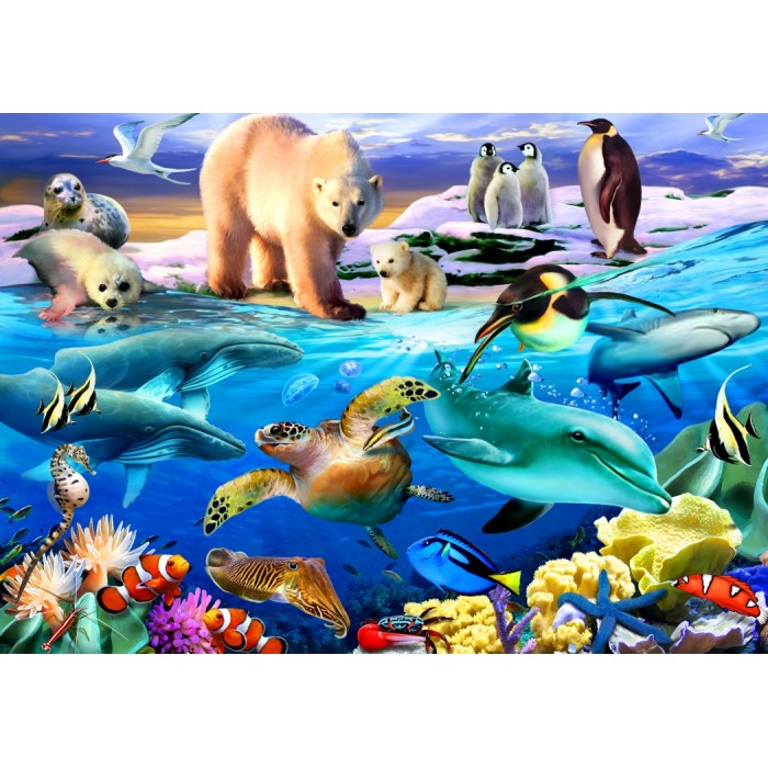 Oceans of Life Puzzle 1000 pieces