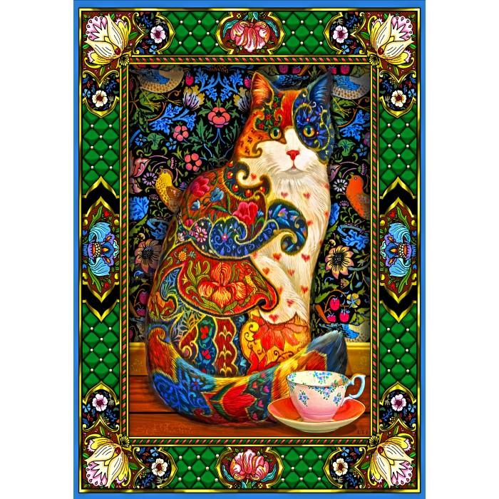 Painted Cat Puzzle 1500 pieces