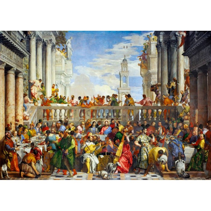 Paolo Veronese - The Wedding at Cana, 1563 Puzzle 1000 pieces