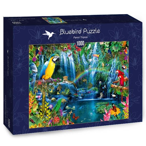 Parrot Tropics 1000 piece jigsaw puzzle
