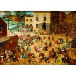 Puzzle   Pieter Bruegel the Elder - Children's Games, 1560
