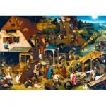Puzzle   Pieter Bruegel the Elder - Netherlandish Proverbs, 1559