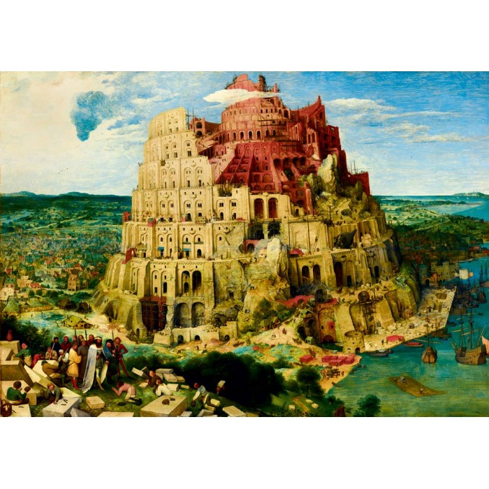 Pieter Bruegel the Elder - The Tower of Babel, 1563