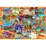 Puzzle   Postcard (USA)