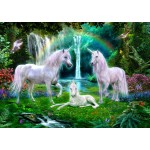 Puzzle   Rainbow Unicorn Family