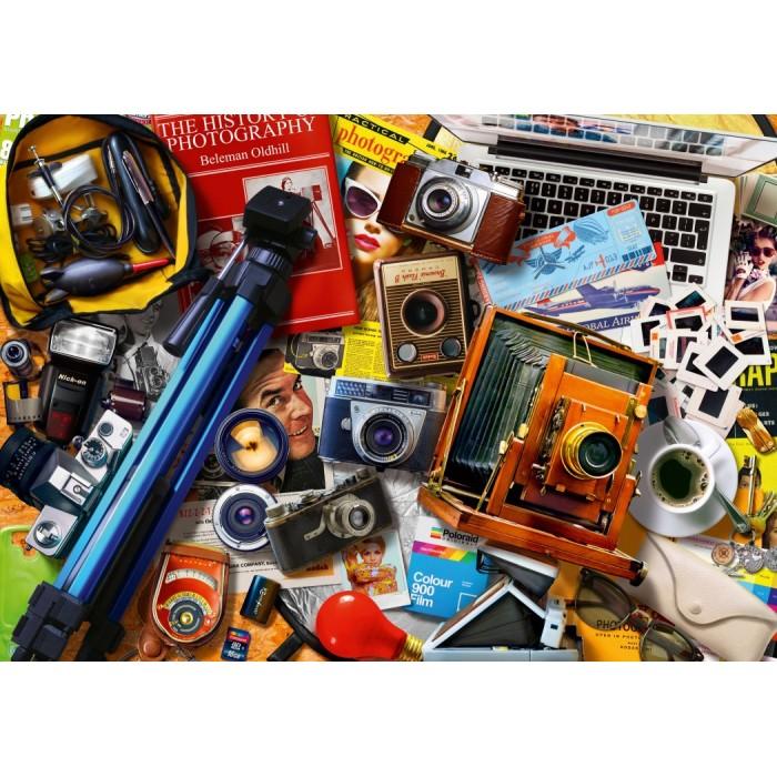 Retro Camera Tabletop Puzzle 1000 pieces