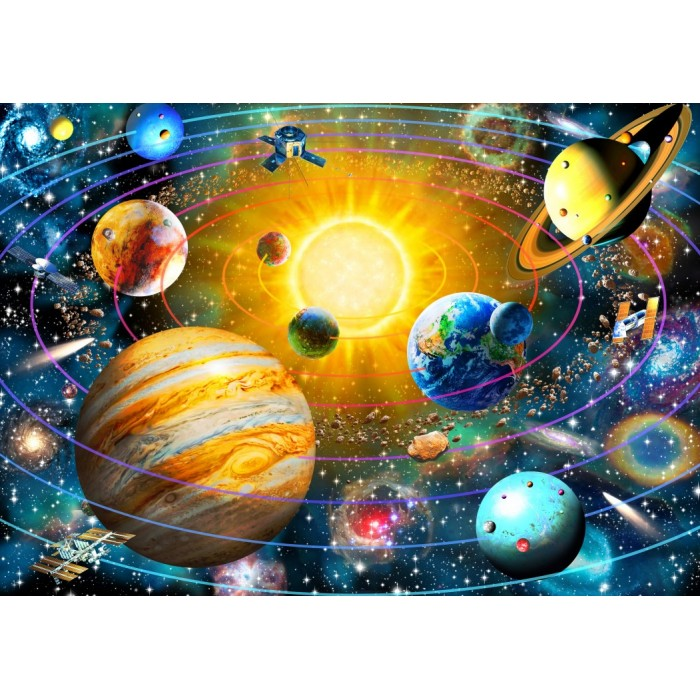 Ringed Solar System