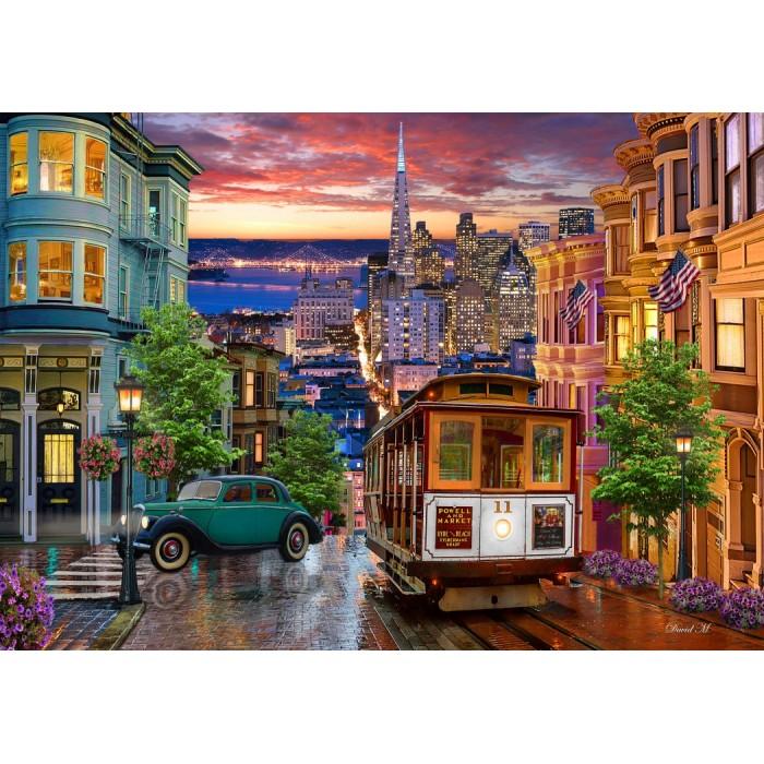 San Francisco Trolley Puzzle 1000 pieces