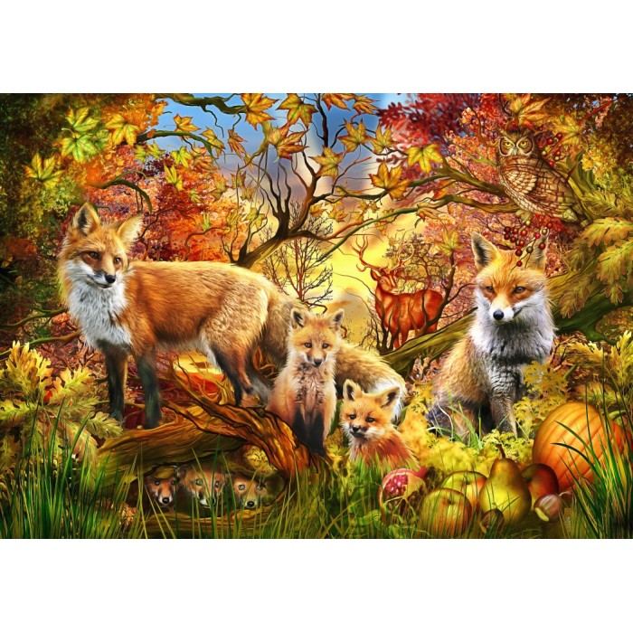 Spirit of Autumn Puzzle 1500 pieces
