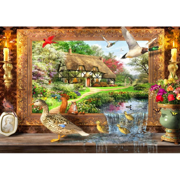 Still to Life Puzzle 1500 pieces
