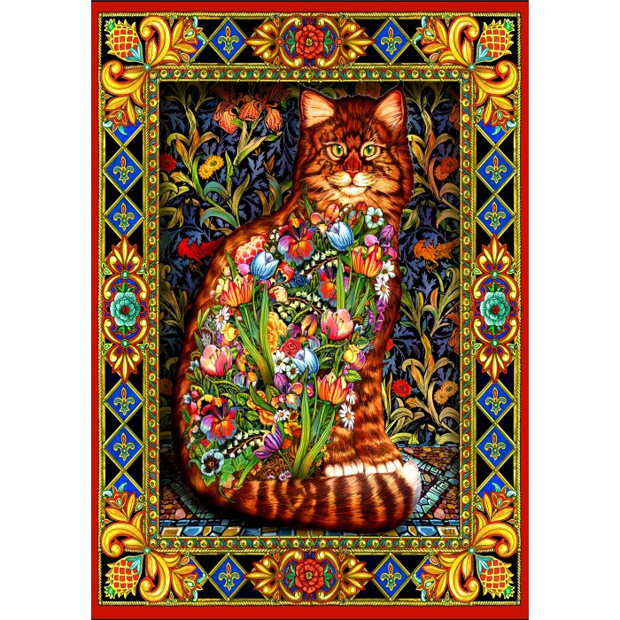 Tapestry Cat Puzzle 1500 Pieces