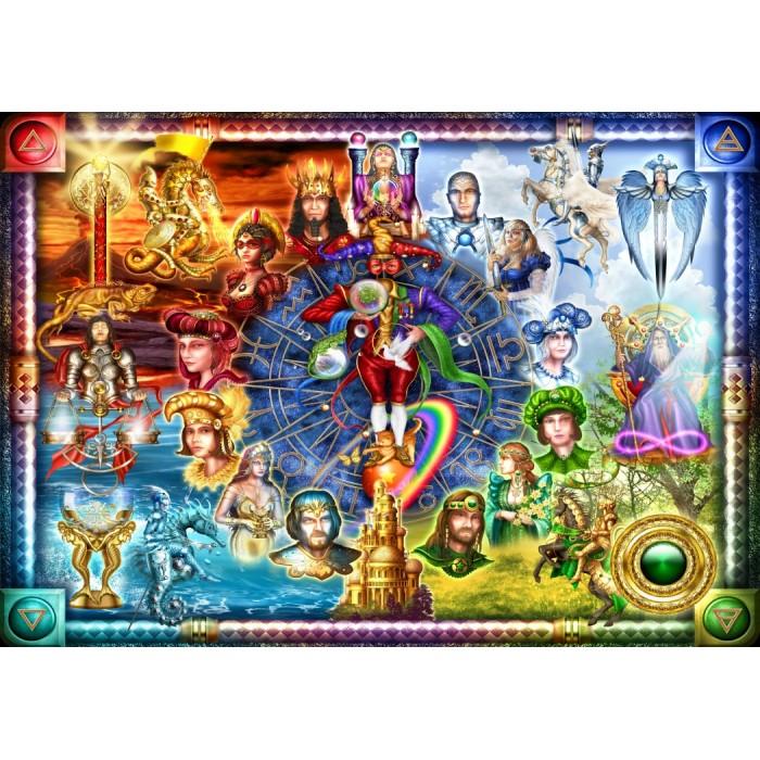 Tarot of Dreams Puzzle 1500 pieces