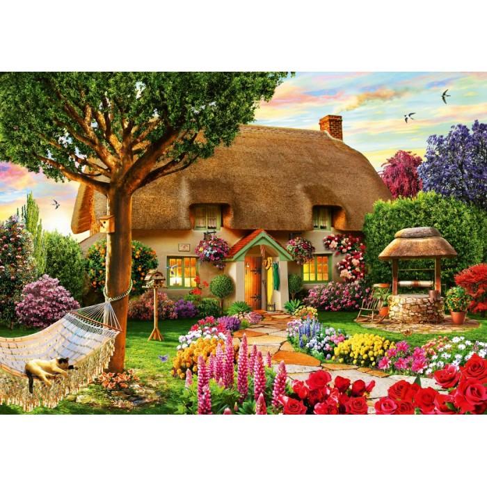 Thatched Cottage Puzzle 1000 pieces