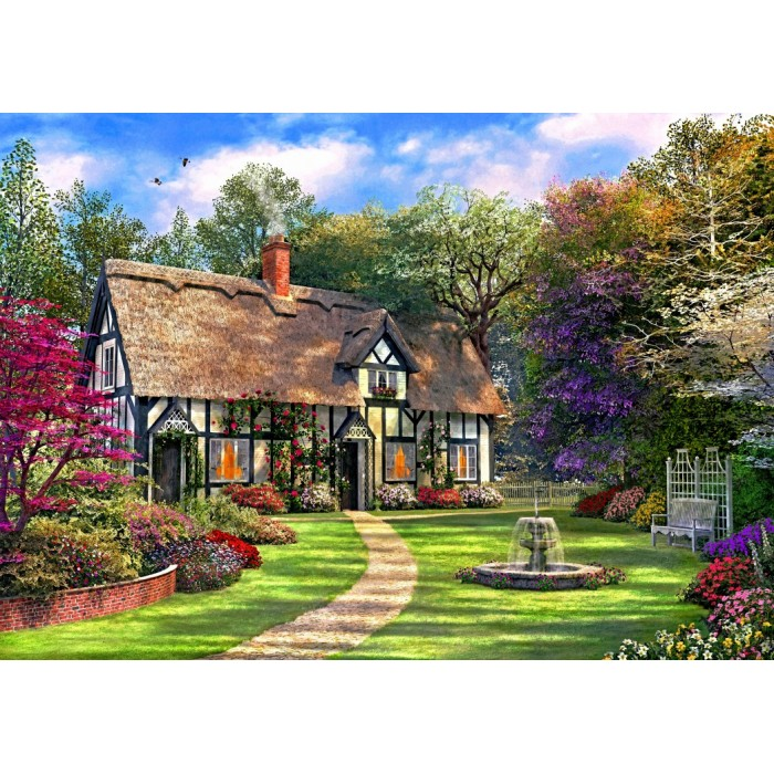 The Hideaway Cottage Puzzle 2000 pieces