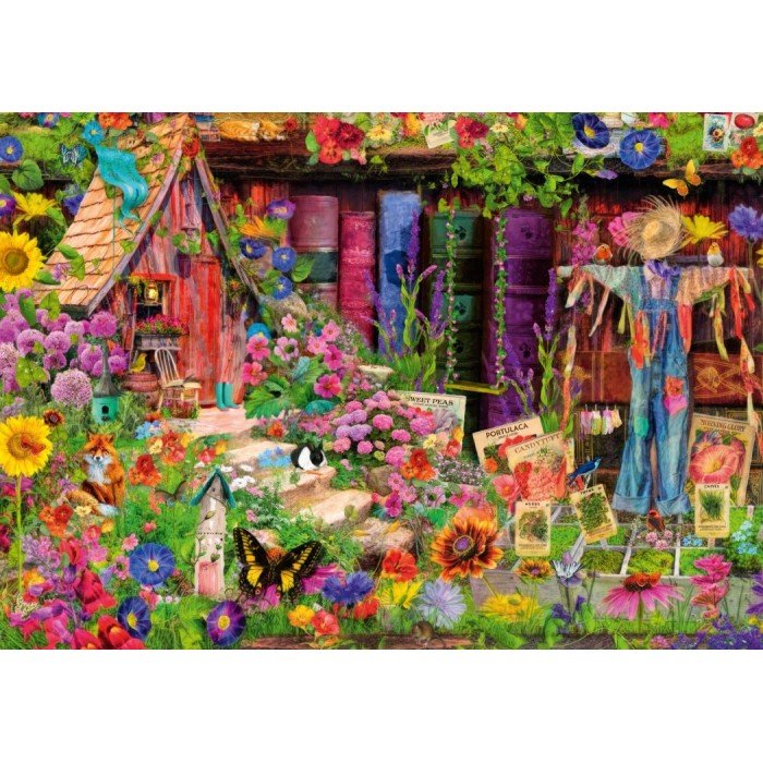 The Scarecrow's Garden Puzzle 1000 pieces