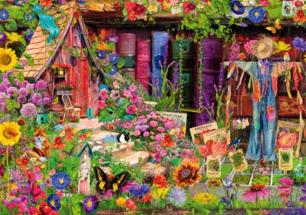 The Scarecrow's Garden 1000 piece jigsaw puzzle