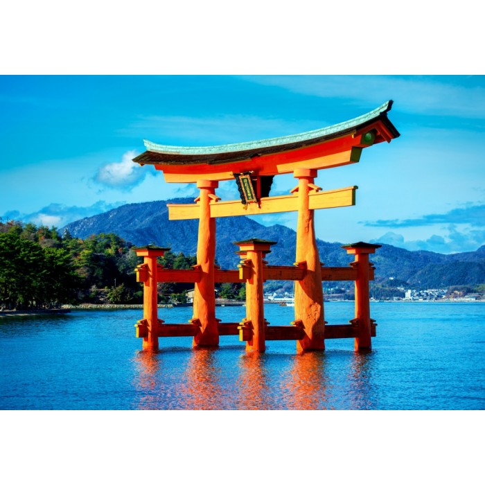 The torii of Itsukushima Shrine Puzzle 1500 pieces