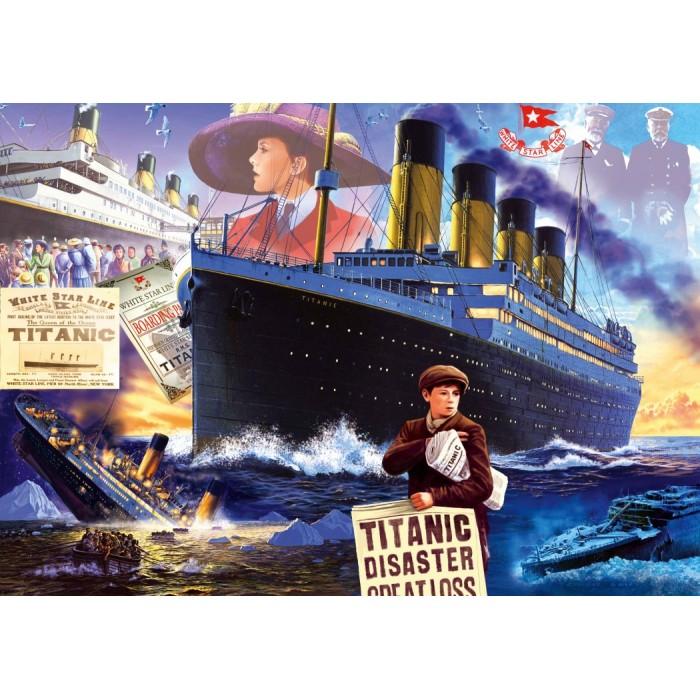Titanic Puzzle 1000 pieces