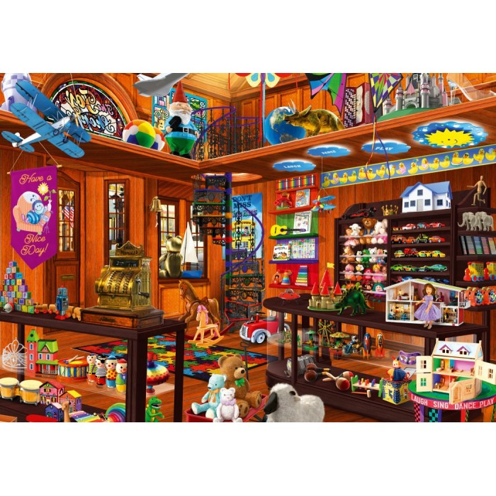 Toy Shoppe Hidden Puzzle 1000 pieces