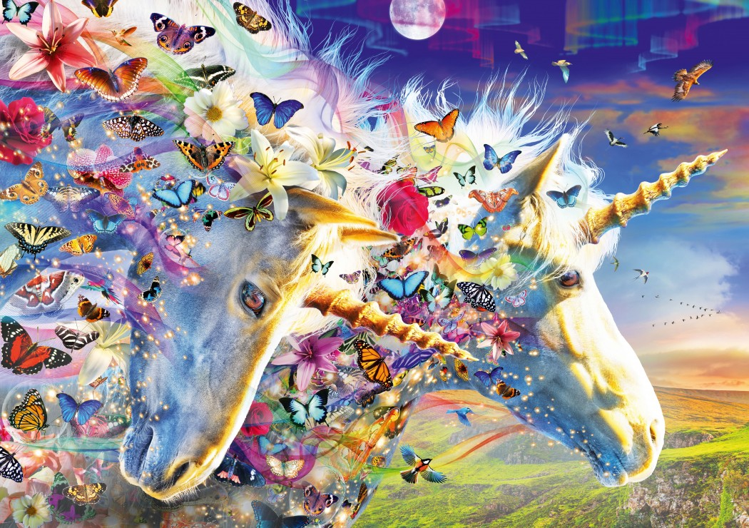 Unicorn Dream 1000 piece jigsaw puzzle