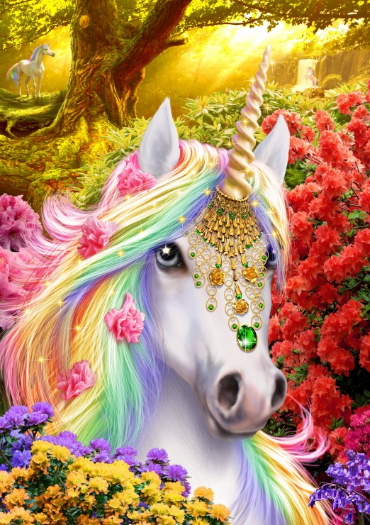 Unicorn 1000 piece jigsaw puzzle