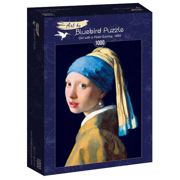 Vermeer- Girl with a Pearl Earring, 1665 1000 piece jigsaw puzzle