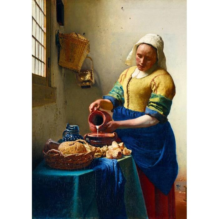 Vermeer- The Milkmaid, 1658