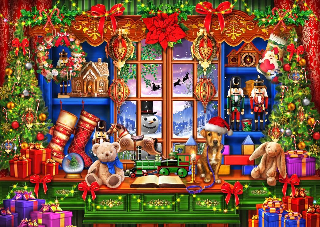 Ye Old Christmas Shoppe 2000 piece jigsaw puzzle