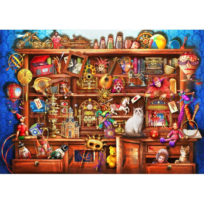 Ye Old Shoppe Puzzle 2000Pieces
