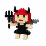 Brixies-38449019 3D Nano Puzzle - Postcard Devil