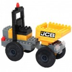 Brixies-38449142 3D Nano Puzzle - JCB Site Dumpers