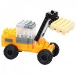 Brixies-38449143 3D Nano Puzzle - JCB Wheeled Loader