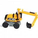 Brixies-38449146 3D Nano Puzzle - JCB Excavator