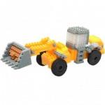 Brixies-38449147 3D Nano Puzzle - JCB Tractor
