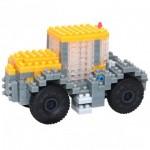 Brixies-38449148 3D Nano Puzzle - JCB Tractor