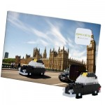 Brixies-38449202 3D Nano Puzzle - Postcard London Taxi