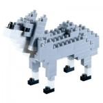 3D Nano Puzzle - Wolf