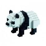 Brixies-57840 3D Puzzle - Panda