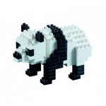 Brixies-57840 Nano 3D Puzzle - Panda