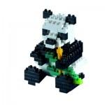 Brixies-57841 Puzzle 3D - Panda
