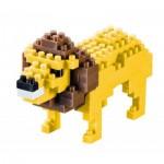 Brixies-57918 3D Nano Puzzle - Lion