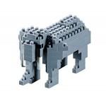 Brixies-57919 3D Nano Puzzle - Elefant