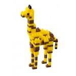 Brixies-57921 3D Nano Puzzle - Giraffe