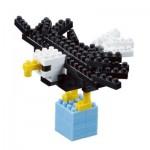 Brixies-57923 3D Nano Puzzle - Eagle