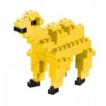 Brixies-57924 3D Nano Puzzle - Camel